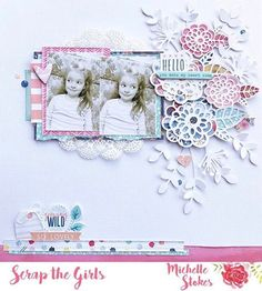June already?? That means it's BIRTHDAY MONTH for me It also marks the start of a new challenge over at @scrapthegirls and this months is a sketch! I've not had a chance to share on the blog as yet, but couldn't wait to share it here with you all Collection used is Wild at Heart from @cocoa_vanilla_studio along with some super pretty Creative Cuts from @dlishscraps #gettinhercraftonaus #scrapbooking #cocoavanillastudio #dlishscrapscreativecuts #cvswildatheart #scrapthegirls
