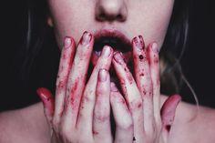 blood mouth tumblr - Buscar con Google