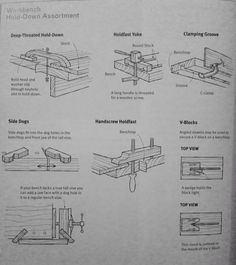 Make: hold downs plans workbench. Book