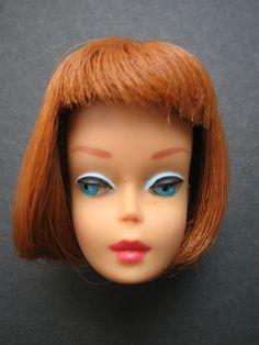 Vintage Barbie Titian American !