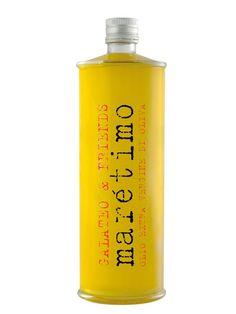 Una botella de aceite preciosa!