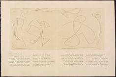 Untitled, pg. 11 (double page), in the book Maximiliana ou l'exercice illégal de l'astronomie: L'Art de voir de Guillaume Temple by Max Ernst (Paris: Iliazd, 1964).