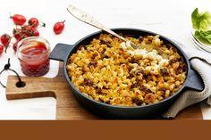 Koskenlaskijan makaronilaatikko Ketogenic Recipes, Diet Recipes, Vegan Recipes, Cooking Recipes, Finnish Recipes, Keto Results, Tasty, Yummy Food, Fodmap