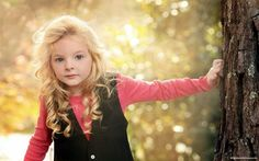 Cute Baby Girl With Golden Hair, Pictures, Photos, HD Wallpapers