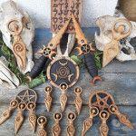 ArtForWicca - ArtforWicca Creations, Symbols, Home Made, Woodwind Instrument