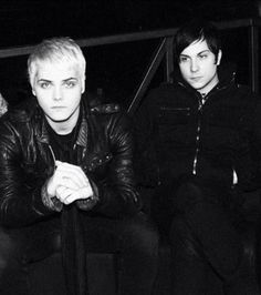 Gerard Way and Frank Iero