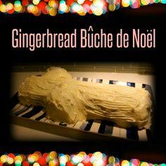 Gingerbread Buche de Noel recipe from the lunchbox season