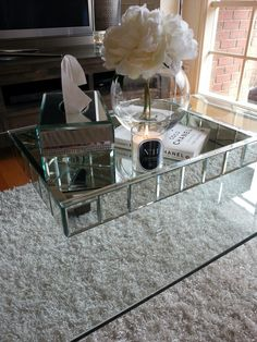 @BOMBARDIER DESIGNS Coffee Table Obsession, Scented Candle #11, Chanel,  Mirrored,