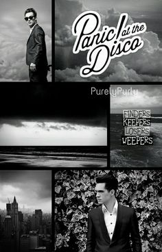 #collage #panicatthedisco #brendonurie #fanedit #edit #fandom edit collage of panic at the disco and Brendon urie