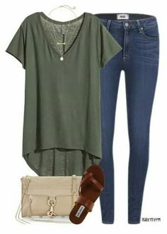 Love this color green (not necessarily the shirt) but love the color