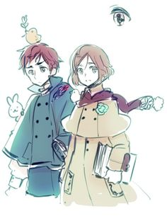 By Himaruya Hidekaz in recent blog update (who are they??) <<< The Grimm brothers I would guess