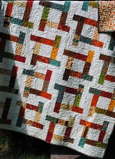 """""""Tea Party"""" quilt patterns by Sweet Jane, scrap quilt - posted on Flickr by Sue Pfau"""