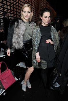 Leigh Lezark and Tallulah Harlech Front Row at Fendi