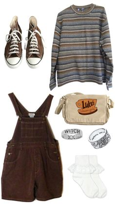 Teen Fashion Outfits, Retro Outfits, New Outfits, Fall Outfits, Swaggy Outfits, Cute Casual Outfits, Aesthetic Fashion, Aesthetic Clothes, Sirius Black