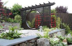 Aerial view of Elemental Maze, with 5 gardens | Creative Gardening ...