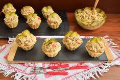 salata-de-ciuperci-cu-macrou-afumat-si-maioneza-5 Sushi, Muffin, Lunch, Breakfast, Desserts, Food, Fine Dining, Salads, Muffins