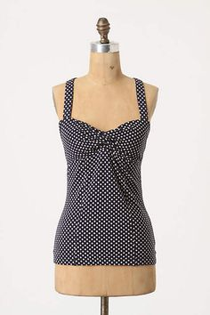 Dimpled & Dotted Tank - anthropologie.com
