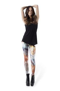 Galaxy Pearl Leggings › Black Milk Clothing