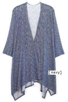 heather fabric ruana *** wholesale