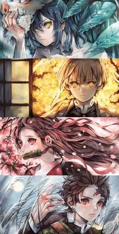Doujinshi , ảnh Kimetsu no yaiba Anime Chibi, Manga Anime, Art Anime, Anime Kunst, Anime Artwork, Anime Art Fantasy, Anime Angel, Anime Demon, Demon Slayer
