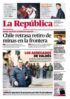 Edición impresa del 22 de marzo, del 2012.