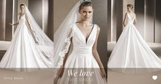 """La Sposa on Twitter: """"Ralea style from #LaSposa2016 is our ideal satin princess…"""