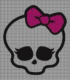 Monster High Skull Crochet Pattern