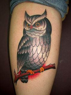 As corujas, sempre tão belas, são muito usadas para tatuagens. Confira o que significam e confira algumas tattoos.