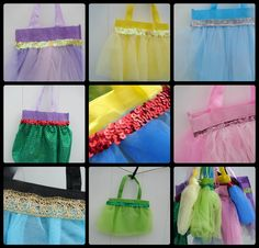 A girl and a glue gun: princess bags