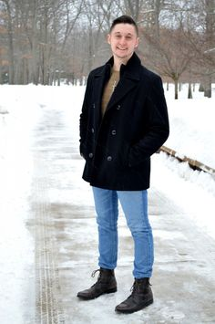STYLE ADVICE OF THE WEEK: Peacoat Perfection