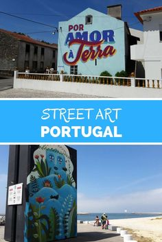 Discover street art in 5 undiscovered cities of Portugal.