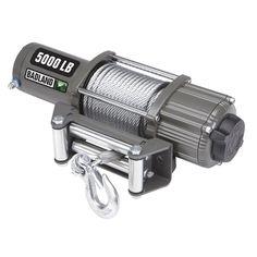 5000 Lb. #Electric ATV/UTV #Winch with Automatic #LoadHoldingBrake