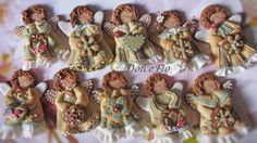 Shabby Chic Angels - Cake by DolceFlo