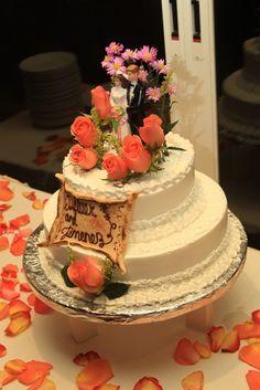 Wedding Cake - Casa Turquesa Boutique Hotel, Cancun