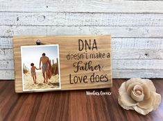 Step Dad gift Gift for Step Dad DNA doesnt make a father picture frame Dad picture frame Fathers Day gift Step Father gift Dad frame Stepdad Fathers Day Gifts, Homemade Fathers Day Gifts, Diy Father's Day Gifts, Fathers Day Presents, Father's Day Diy, Presents For Dad, Fathers Day Crafts, Gifts For Dad, Dad Crafts