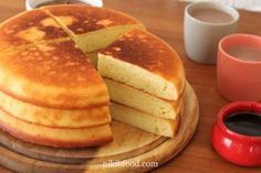 Quick oven pancake - Best Ever Homemade Pancakes Recipe Cake Recipes, Dessert Recipes, Desserts, Oven Pancakes, Pancake Toppings, Homemade Pancakes, Cake Cookies, No Bake Cake, Breakfast Recipes