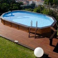 piscinas de madera elevadas - Buscar con Google