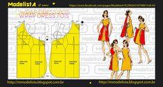 ModelistA: VESTIDO ENVELOPE / WRAP DRESS