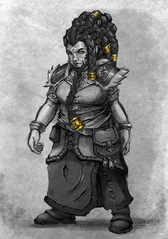 Dwarf Female by Samosoboy.deviantart.com on @DeviantArt