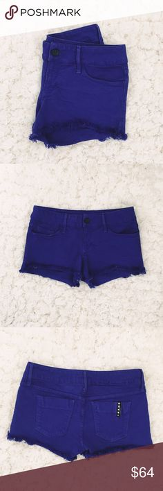 Black Orchid Purple Shorts Black Orchid purple shorts with minimal studded detailing. In great condition! Size 27, super stretchy Black Orchid Shorts