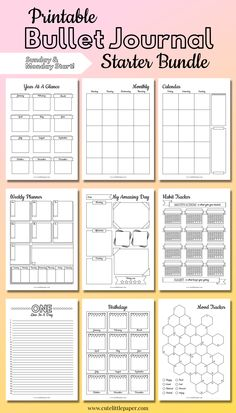 Cute Little Paper - Planning, printables, and everything in between