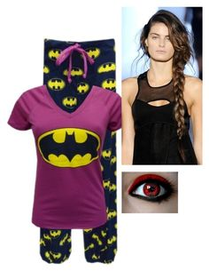 """""""sleeping after a night at Fangtasia."""" by deanamorris on Polyvore"""