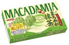 Meiji Crushed macadamia nuts Mellow Matcha 9grain Japan Japanese candy green tea #