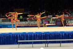Equipe brasileira conquista segundo ouro na ginástica rítmica em 2015 - movimento - exercício - exercise - atividade física - fitness - corpo - body - beleza - estética - belo - beautiful - esporte - sport - artista - dança - dance