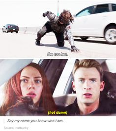 Bucky: seriously, can anyone tell me what my name is?????<<lol