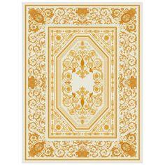 Ковер 'Слава Империи' Imperial Glory, Gold #ковер #дизайн #ковры