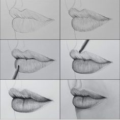 How To Draw Lips More