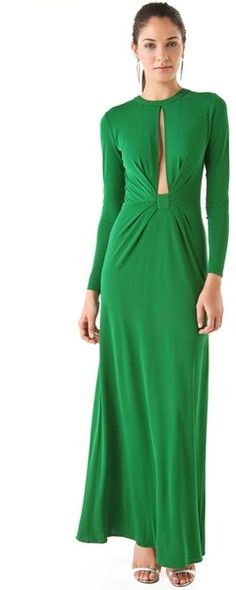 Issa : Slit Front Maxi Dress