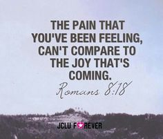 Joy & pain. Christian Birth Affirmation