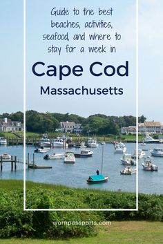 Travel guide to Cape Cod, Massachusetts: Sample itinerary, advice, and recommendations from real travelers. Visit Provincetown, Plimoth Plantation, JFK Museum, Cape Cod Baseball League, Cape Cod Brewery, Cape Cod Potato Chip Factory, & the best beaches. Learn about the best seafood restaurants & the best family accommodations in Chatham. wornpassports.com